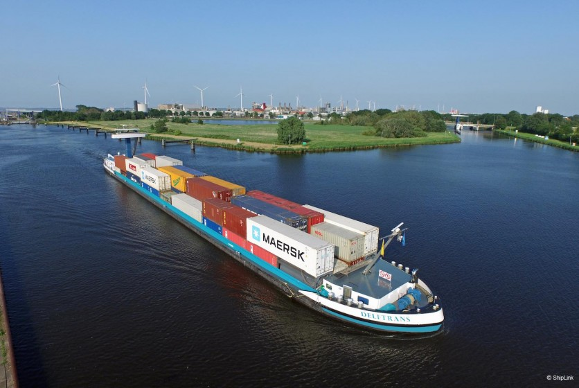 Delftrans Eemskanaal Shiplink.nl